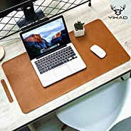 Yikda Extended Leather Gaming Mouse Pad/Mat ، Large Office Writing Office Computer Leather Mat MousePad ، Wate