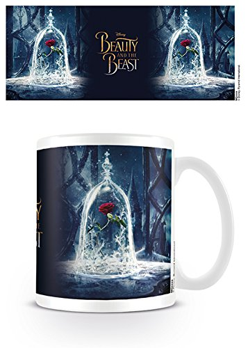 Disney MG24450 Beauty and The Beast Movie (Enchanted Rose) Mug, Céramique, Multicolore, 11oz/315ml