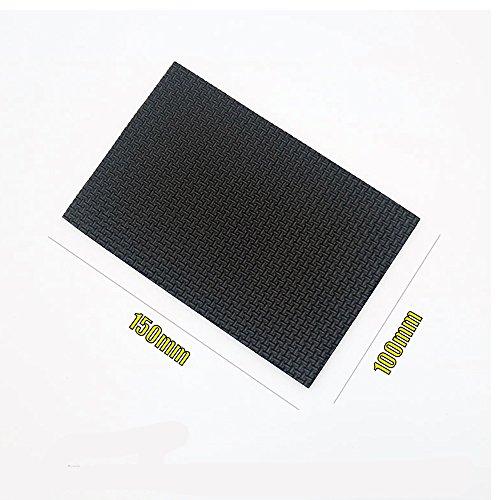 ShineCozy Bodenschoner für Stuhlbeine. Schützen Hartholz- und Laminatböden., Ethylenvinylacetat, 150*100mm (Stick Fliesenboden)