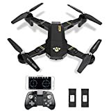 Kingtoys XS809W Drone Foldable Drone WIFI FPV Quadcopter with 2MP Camera Settable Flight