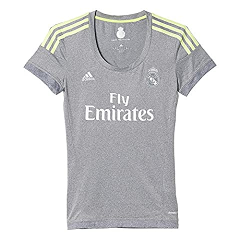 2ème CF-Real Madrid Maillot Officiel adidas Maillot femme XXL Gris / Lima