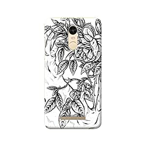 MIKZY Flower Pattern Printed Designer Back Cover Case for Xiaomi Redmi Note 3 (MultiColour)