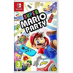 Nintendo Switch - Consola, Color Azul Neón/Rojo Neón + Super Mario ...