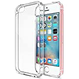Coque iPhone Se / 5 / 5S, iVoler [ Ultra Transparente Silicone en Gel TPU Souple ]...