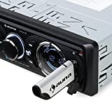 Auna MD-160-BT • Autoradio • Kit Hi-FI • Interface Bluetooth • USB • SD/MMC • Tuner Radio FM • MP3 • Prise Jack 3.5mm entrée AUX • Sortie Ligne Cinch stéréo • Mains Libres • Télécommande • Noir
