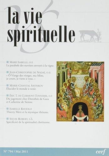 La Vie Spirituelle Vs794 par Collectif