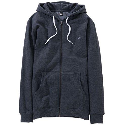 Cleptomanicx Herren Sweatshirt Blau
