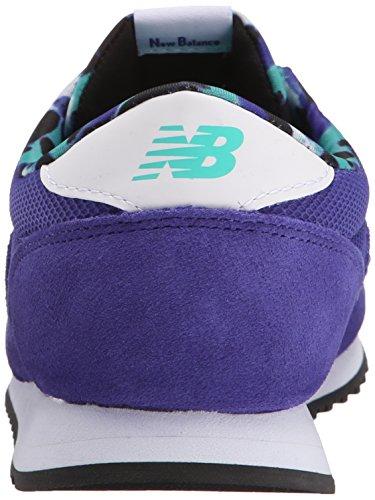 New Balance 487681 50, Baskets Basses Femme Bleu (Blue/White)