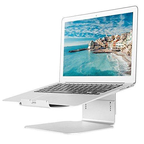 Laptop Ständer ,Verstellbare Alulegierung Laptop Stand Notebook Ständer Halter für MacBook, MacBook Pro / Air und alle Laptop 10 bis 17 Zoll (Verstellbarer Laptop-schreibtisch)