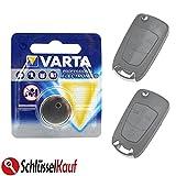VARTA Autoschlüssel Batterie für Opel Astra H Corsa D Omega Signum Vectra Zafira