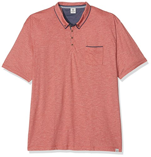 LERROS Große Größen Herren Poloshirt Lerros Polo Shirt Red (faded Coral 333)