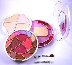 ADS Multi Use Palatte - 12 Eyeshadow, 4 Blusher, 4 Powder Cake and 6 Lip Colour Palatte, 55g