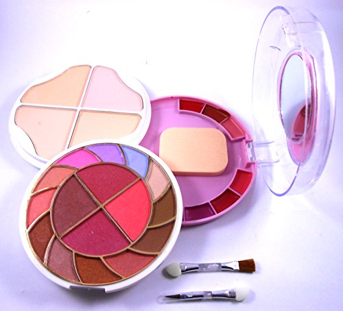 New ADS Multi use palatte - 12 Eyeshadow, 4 Blusher, 4 Powder Cake and 6 Lip Colour Palatte, 55g