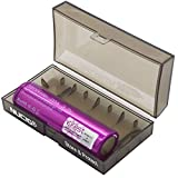 NUCIG® Branded Storage Box + Single Efest IMR 18650 3.7v 3500 mAh High Drain Recharging Flat Top Battery | Authenticity Scratch Serial Security | Ecigarette Mod | Eliquid Ecigarette Mod | Eliquid Mod (Single Pack + NUCIG® Box)