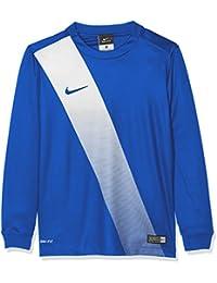 Nike Long Sleeve Top Yth Sash Jersey Camiseta, Niños, Azul / Blanco (Royal Blue / Football White / Royal Blue), S