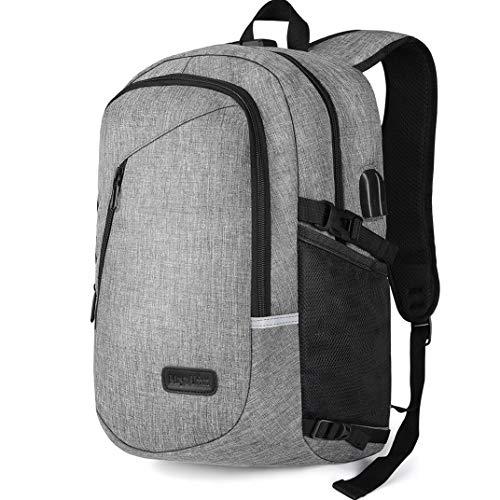 Laptop Rucksack, Maysurban Herren Rucksack Handtasche mit USB-Ladeanschluss Business Daypack Groß Kapazität Wasserdicht Schulrucksack Anti Diebstahl für 15.6 Zoll Laptop & Notebook