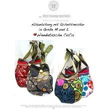 Coco Nähanleitung mit Schnittmuster auf CD für Wendetasche in 2 Größen, Schultertasche, Handtasche