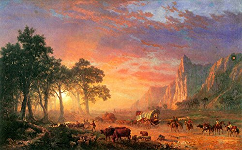 Das Museum Outlet-The Oregon Trail by Bierstadt-A3Poster
