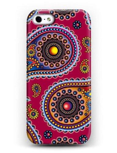 iCreat SUPER-CASE iphone cover schönes Design mit bunte Muster Tautropfen, Gemaltes iphone Hülle Gehäuse Hartschale harte Rückseite für IPHONE 5 5G 5S IPHONE 5/5S