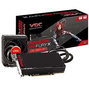 VTX3D AMD Radeon R9 Fury HBM-Carte graphique 4 Go, PCI Express 3.0, HDMI/3 x Display Port, 256 Bits 2 Go