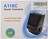 AUTO-VOX B40 A118C PRO Capacitor Version 1080P 1.5' Car Blackbox Dvr Dash Camera Recorder - 170° Super Wide Angle 6G Lens - Compact and Contoured Design Built for Disguise - G-Sensor Night Vision Motion Detection(Mit 32G TF Card)