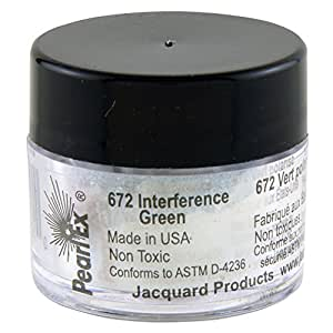 Jacquard Pearl Ex Powdered Pigments 3g-Interference Green