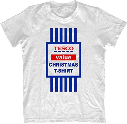 christmas-t-shirt-top-mens-funny-t-shirt-tesco-value-printed-tee-xmas-gift-unisex-2015