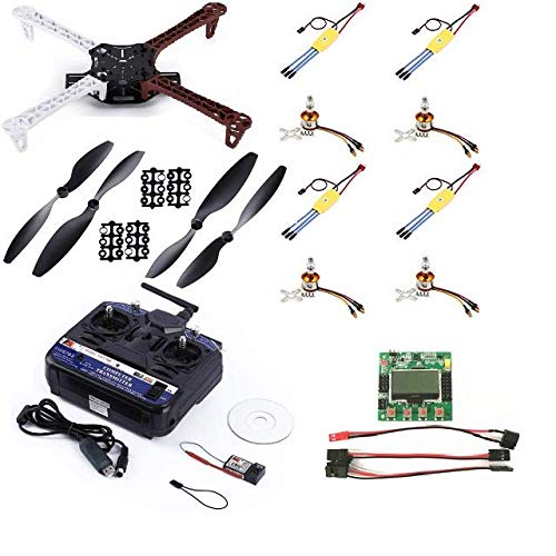 Durga Enterprises F450 DIY Quadcopter Kit with Motors, Frame, Controller
