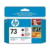 HP Original 73 Matte Black and Chromatic Red Printhead
