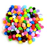 #2: Unobite Multicolor Pom Pom Balls 2.5 cm(100 Piece)