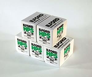 Ilford - Rullini fotografici HP5+ 35 mm, da 36 pose, confezione da 5 pezzi