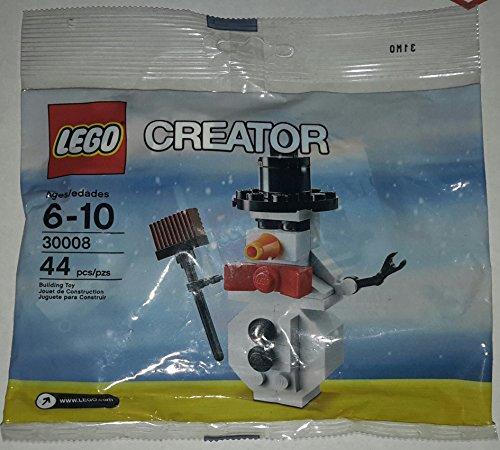 LEGO Estacional: Muñeco De Nieve Establecer 30008 (Bolsas)