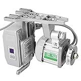 Akozon Maquina de coser industrial, Motor sin escobillas silencioso 550W AC220V