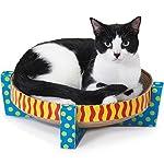 Petstages Scratch, Snuggle & Rest Corrugated Cat Scratcher With Catnip 6