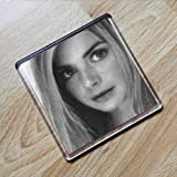Seasons GAIL PORTER - Original Art Coaster #js004