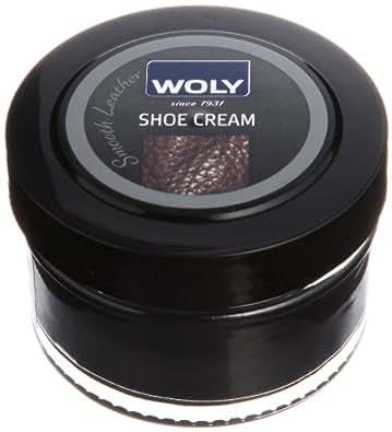 Woly Unisex-Adult Woly Shoe Cream Polish 1470018 Black