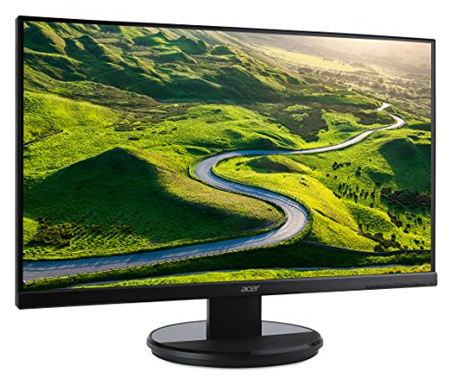 Acer K222HQL 215 Inch LED panel Monitor DVI VGA 1920 x 1080 maximum HD 5ms 200cd m2 VESA Mountable Products