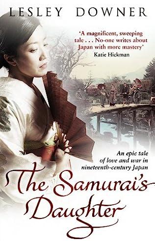 book cover of The Samurai\'s Daughter