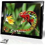 Cytem DiaMine 15; Digitaler Bilderrahmen 38,1cm (15 Zoll im 4:3 Format); leuchtstarkes entspielgeltes LED Display; ECHTE Zufallswiedergabe; Ordnerbasierte Diaschau; unterstützt min. 10.000 Bilder; HD-Video Wiedergabe; einfachste Bedienung