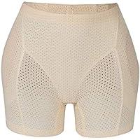 CNKM Women Open Bottom Butt Lifter Pants Buttock Enhancer Tummy Control Panties