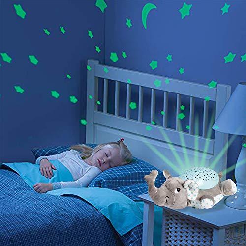 Baby Einschlafhilfe Spielzeug Nachtlicht mit Sternenhimmel Projektor mit beliebten Schlafliedern - Sternenhimmel, Spielzeug, Schlafliedern, Schlafhilfe, Projektor, Nachtlicht, Geschenk, einschlafhilfe baby, einschlafhilfe, Babyparty, Baby