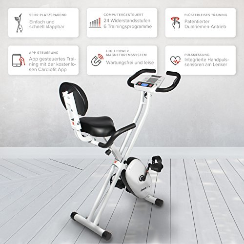 SportPlus Ergo X-Bike mit App-Steuerung - 3