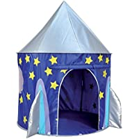 Spirit of Air Kids Kingdom Pop Up Space Rocket Play Tent