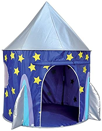 Spirit of Air Kids Kingdom Pop Up Space Rocket Play Tent Amazon.co.uk Toys u0026 Games  sc 1 st  Amazon UK : childrens play tents uk - memphite.com