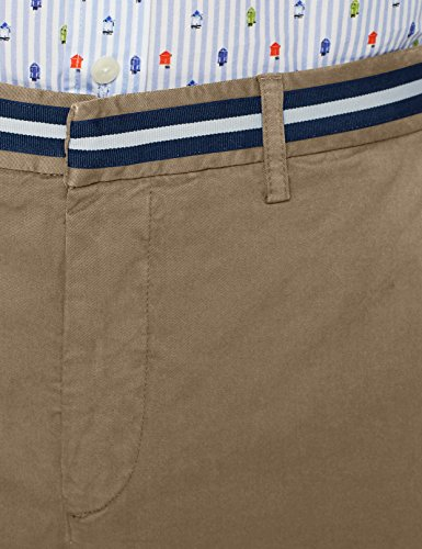 HACKETT LONDON Herren Hackett Slim M C HM800817, Gr. 31, Blau (Sea Blue 553) Ha M C Sh Shorts Beige (Biscuit 850)