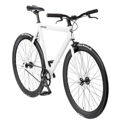 """bonvelo Singlespeed Fahrrad Blizz """"White Riot"""" (Large / 56cm für Körpergrößen von 170cm bis 181cm)"""
