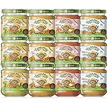 Yammy, Pack Potitos Ecológicos Comidas o Cenas - 12 de 195 gr. (Total