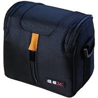 GEM COSCAPHXA100 Cubierta de hombro Negro, Azul, Naranja estuche para cámara fotográfica - Funda (Cubierta de hombro, Panasonic, HX-A100, Tirante para hombro, Negro, Azul, Naranja)