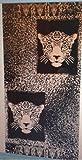 "Generic Tiger Cotton Velour Jacquard Beach Towel (40"" x 70"")"