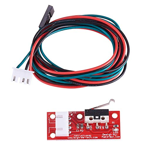 INCREWAY 10 mechanische Endstop-Endstop-Endschalter mit 22 AWG Kabel für 3D-Drucker Makerbot Prusa Mendel RepRap CNC Arduino Mega 2560 1280 RAMPS 1.4 LKB01 -